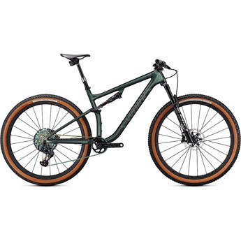 Specialized Epic Evo S-Works Gloss Oak Green Metallic/Diamond Dust