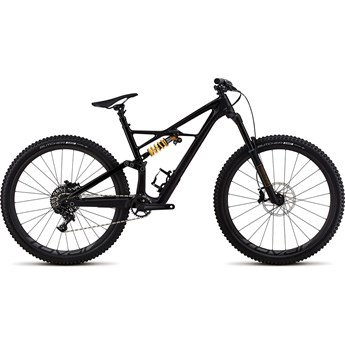 Specialized Enduro FSR Coil Carbon 29 6Fattie Satin Gloss Tarmac Black/Tarmac Black/Gold 2018