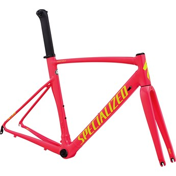 Specialized Allez Sprint Frameset Acid Pink/Team Yellow/Clean