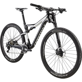Cannondale Scalpel-Si Carbon 4 Jet Black with Fine Silver and Charcoal Gray, Gloss