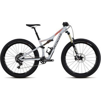 Specialized Rhyme FSR Expert Carbon 6Fattie Gloss Filthy White/Coral/Black