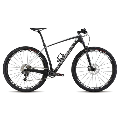 Specialized S-Works Stumpjumper Hardtail Carbon WC 29 Carbon/White 2015