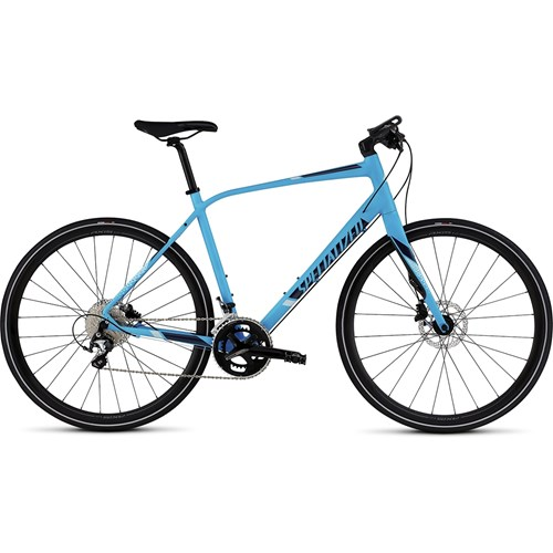 Specialized Sirrus Comp Disc Cyan/Navy/Baby Blue 2016