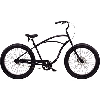 Electra Cruiser Lux Fat Tire 1 Matte Black Herr