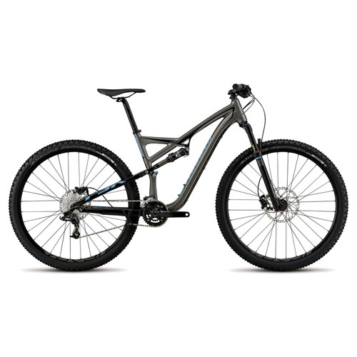 Specialized Camber FSR Comp 29 Silver/Black/Cyan