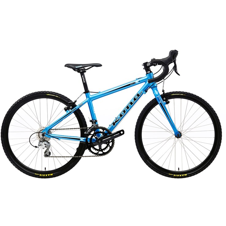 Kona Jake 24 Cyan Blue with Black and White