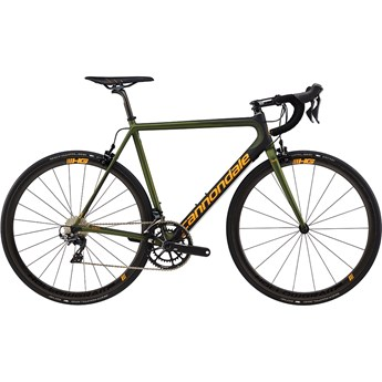Cannondale SuperSix EVO Hi-Mod Dura-Ace 2 Vulcan Green With Jet Black