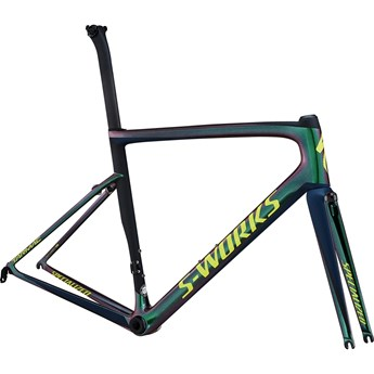 Specialized S-Works Tarmac Men SL6 Frameset Chameleon Green/Satin Cast Blue/Black/Team Yellow 2018