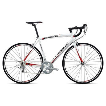 Specialized Allez Elite C2 INT Metallicvit/Röd/Svart