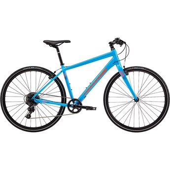 Cannondale Quick 2 Ultra Blue with Jet Black, Acid Red, Reflective Detail, Gloss
