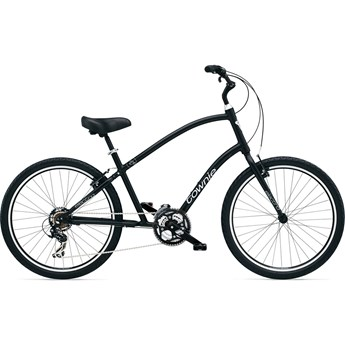 Electra Townie Original 21D Black Satin Herrcykel 2016