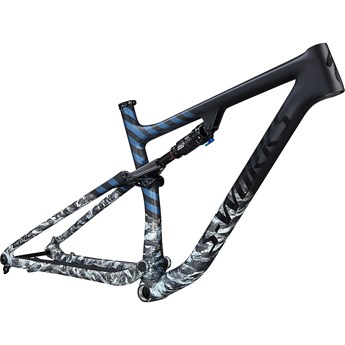Specialized Epic Evo S-Works Frameset Satin Flake Silver/Cast Blue Metallic/Gloss Tarmac Black