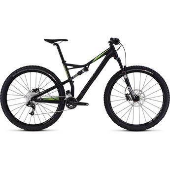 Specialized Camber FSR Comp 29 Satin Black/Monster Green/Hyper