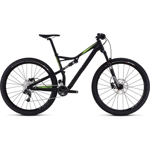 Specialized Camber FSR Comp 29 Satin Black/Monster Green/Hyper 2016