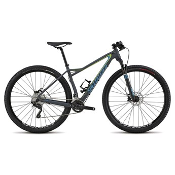 Specialized Fate Comp Carbon 29 Carbon Grey/Cyan/Hyper Green
