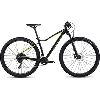 Specialized Jett Pro 29 Gloss Tarmac Black/Hyper Green/Powder Green 2017
