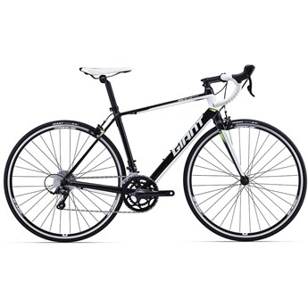 Giant Defy 3 Black/White/Lime 2016