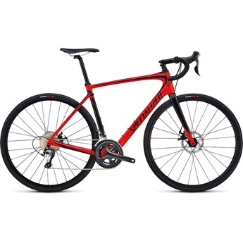 Specialized Roubaix Gloss Flo Red/Tarmac Black
