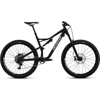 Specialized Stumpjumper FSR Comp 27,5 Satin Black/White Clean