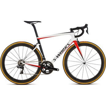 Specialized S-Works Tarmac Men SL6 Dura-Ace Di2 Light White/Rocket Red/Satin Black 2018