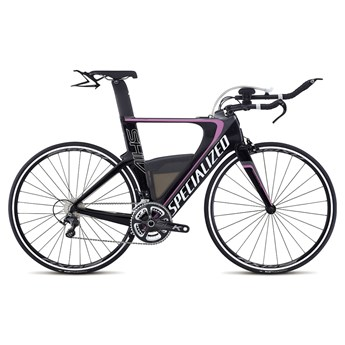 Specialized Shiv Expert Ultegra Double Carbon/Charcoal/Pink