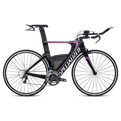 Specialized Shiv Expert Ultegra Double Carbon/Charcoal/Pink 2015