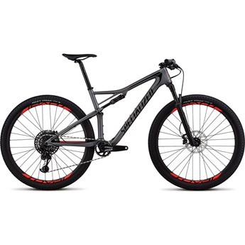 Specialized Epic Men Expert Carbon 29 Satin Charcoal/Black/Rocket Red 2018