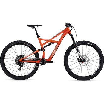 Specialized Enduro FSR Comp 29 Gloss Moto Orange/Baby Blue/White
