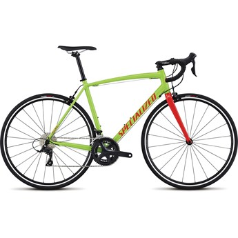Specialized Allez E5 Sport Monster Green/Tarmac Black/Rocket Red