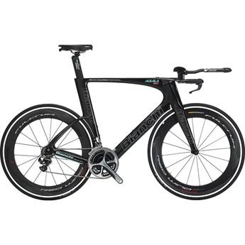 Bianchi Aquila CV TT Dura-Ace Di2 Black Matt/Celeste/Titan Outline Glossy