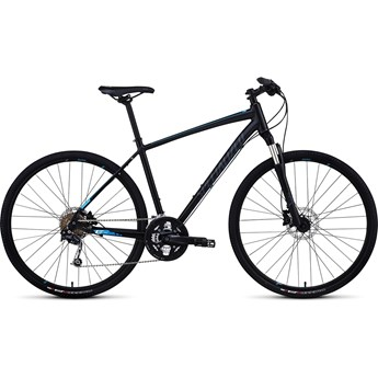 Specialized Crosstrail Elite Disc INT Svart/Blå/Askgrå
