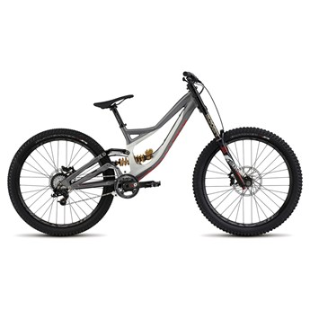 Specialized Demo 8 FSR II 650B Dirty White/Charcoal/Rocket Red