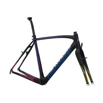 Specialized Crux Pro Carbon Bara Ram (Frameset) Materialfärg/Askgrå/Flerfärgad