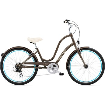 Electra Townie Original 7D EQ Quartz Grey Damcykel 2016
