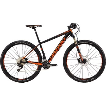 Cannondale F-Si 2 Matte Jet Black with Gloss Hazard Orange