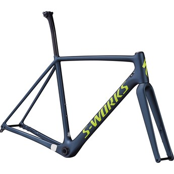 Specialized Crux S-Works Frameset Satin Battleship/Gloss Hyper/Clean