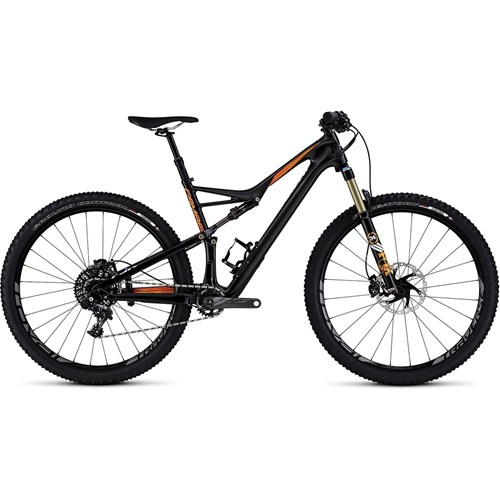 Specialized Camber FSR Expert Carbon 29 Gloss Carbon/Gallardo Orange/White 2016