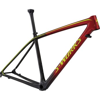 Specialized S-Works Epic Hardtail Carbon 29 Ram (Frame) Gloss Black Candy Red Fade/Hyper