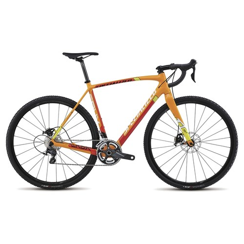 Specialized CruX Expert Carbon Orange/White/Yellow/Flo Red 2015