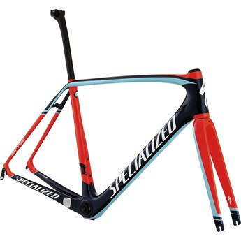 Specialized Tarmac Pro Frameset Gloss Navy/Rocket Red/Light Blue