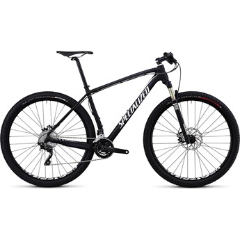 Specialized Stumpjumper Hardtail Comp Kolfiber 29 Materialfärg/Vit/Silver