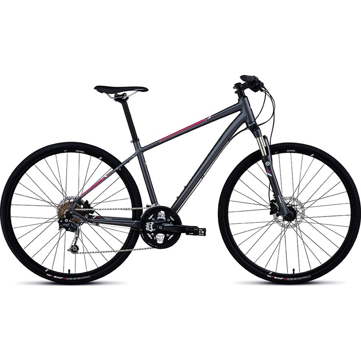 Specialized Ariel Elite Disc INT Askgrå/Vit/Rosa