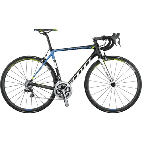 Scott Addict Team Issue Di2 CD22 (Compact Double 22 Växlar) 2015
