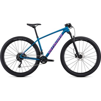 Specialized Chisel Womens DSW Comp 29 Satin Gloss Marine Blue/Acid Purple 2019