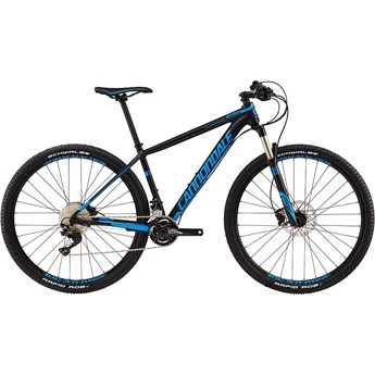 Cannondale F-Si 3 Matte Jet Black with Gloss Ultra Blue