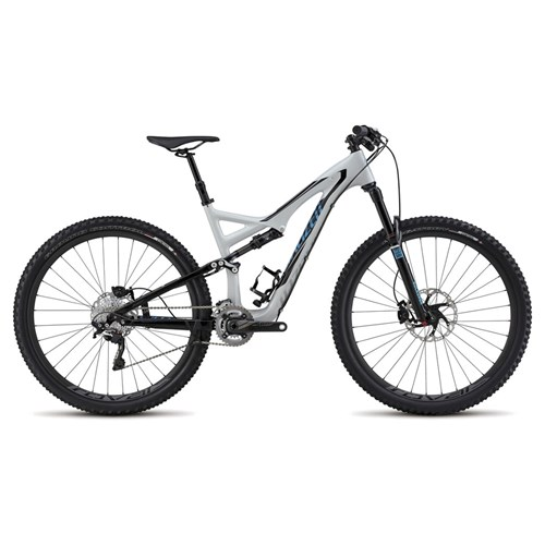 Specialized Stumpjumper FSR Expert Carbon 29 Dirty White/Black/Cyan 2015