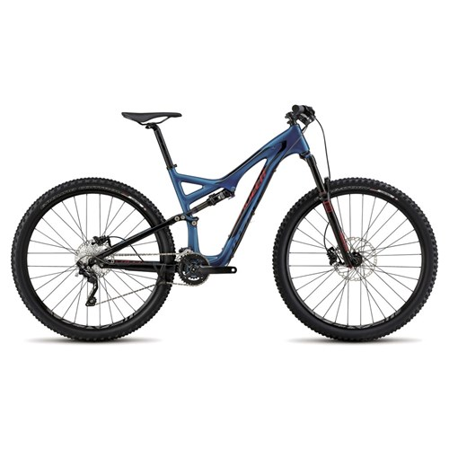 Specialized Stumpjumper FSR Comp Carbon 29 Metallic Teal/Candy Red 2015