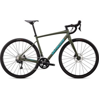 Specialized Diverge E5 Comp Satin Oak Green/Aqua Camo