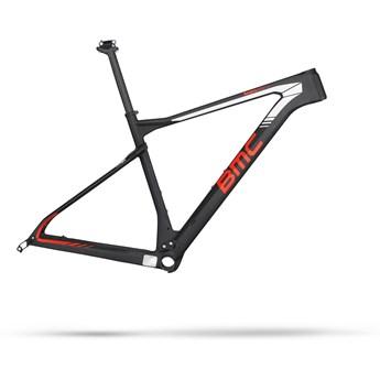 BMC Teamelite 01 Frameset Dti Svart, Röd och Vit 2016