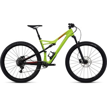Specialized Camber FSR Comp Carbon 29 Monster Green/Nordic Red